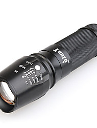 cheap -TANLU TanLu 878 LED Flashlights / Torch LED 800-1000 lm Mode - with Battery and Charger Zoomable Mini Adjustable Focus Rechargeable