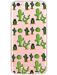 Per iPhone X iPhone 8 iPhone 6 iPhone 6 Plus Custodie cover Transparente Fantasia/disegno Custodia posteriore Custodia Cartoni animati
