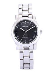 abordables -REBIRTH Mujer Reloj de Pulsera Gran venta / / Aleación Banda Casual / Moda / Elegante Plata / Dos año / Mitsubishi LR626