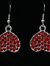 cheap -Elegant Heart Design Alloy Earring Suit for Wedding/Special Occaision / Party Jewelry .