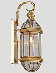 Outdoor Lamp, Garden Lamp, Outdoor Lamp, Full Copper Lamp