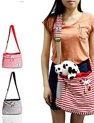 cheap -Cat Dog Carrier & Travel Backpack Shoulder Bag Pet Carrier Portable Breathable Red Blue