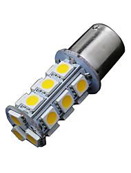 2 x bianco caldo 1156 ba15s 18-SMD di backup segnale 5050 giro di ritorno ha condotto le lampadine