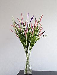 cheap -Hi-Q 1Pc Decorative Flower Lavender Wedding Home Table Decoration Artificial Flowers