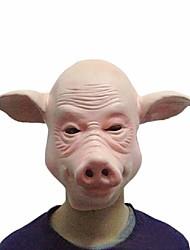 masques de porcs cosplay plein visage Halloween festival fête costumée en caoutchouc de partie drôle pleine tête robe de masque outil de
