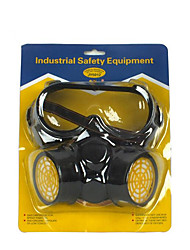 cheap -Industrial Protective Dust  Gas Masks(Material:Rubber & Plastics & Activated Carbon;)