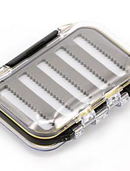Недорогие -Коробка для рыболовной снасти Водонепроницаемый Многофункциональный 2 Поддоны*#*10.5 Пластик