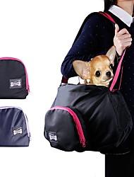 economico -Gatto / Cane Trasportini e cucce da viaggio / Trapuntata Animali domestici Supporto Portatile / Traspirante Nero / Grigio Nylon