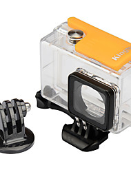 Waterproof Housing Case Mount / Holder Waterproof For Xiaomi CameraSkate Snowmobiling Hunting and Fishing Boating Kayaking Wakeboarding
