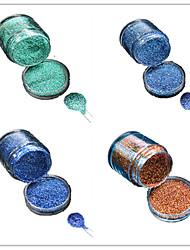 cheap -1 Bottle Nail DIY Beautiful Color Colorful Laser Glitter Powder Nail Beauty Decoration L09-12