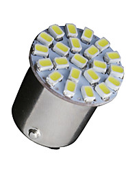 cheap -10 X White 1156 BA15S 22-SMD LED Light bulbs Turn Signal Backup P21W 382 7506