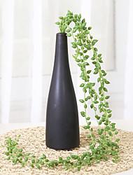 Недорогие -1 1 Филиал Пластик Pастений Корзина Цветы Искусственные Цветы 31.4inch/80cm