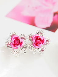 cheap -Women's Fashion Alloy Flower Jewelry Wedding Party Costume Jewelry