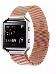 cheap -Watch Band for Fitbit Blaze Fitbit Milanese Loop Metal Wrist Strap