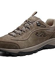 Недорогие -Серый / Телесный-Мужской-Для прогулок / Для занятий спортом-Замша-На плоской подошве-Удобная обувь-Спортивная обувь