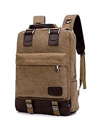 cheap -Men Bags Canvas Laptop Bag Zipper for Casual Summer Black Khaki