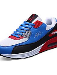 economico -Da uomo Sneakers Comoda PU (Poliuretano) Primavera Autunno Sportivo Comoda Lacci Piatto Nero Grigio Rosso Royal Blue