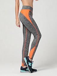 abordables -Mujer Pantalones de yoga - Rojo, Verde, Azul Deportes Pantalones / Sobrepantalón Ropa de Deporte Transpirable, Compresión Elástico