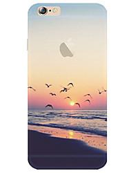 Creative Art Painted Natural Landscape Pattern TPU Phone Case for iPhone 5/5S/SE/6/6S/6S Plus/6S Plus