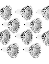 cheap -10W GU10 LED Spotlight MR16 1 COB 810LM lm Warm White / Cool White Dimmable / Decorative AC 220/ AC 110 V 10 pcs