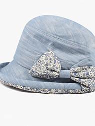 Недорогие -cacuss женщин хлопок солнце шляпа, случайный летний классический женский стиль