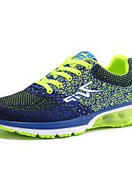 cheap -Men's Sneakers Spring / Summer Comfort Tulle Casual Flat Heel  Blue / Red / Orange Walking
