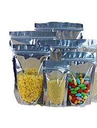 baratos -folha ziplock / yin yang alumínio e puxar o osso sacos saco de embalagens de alimentos de vedação a dez 12 * 18 * 3.5-18 fio de pé