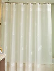 cheap -Shower Curtains Modern PEVA Geometric Machine Made