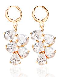 cheap -Women's Hoop Earrings - Fashion Gold / Silver For Wedding