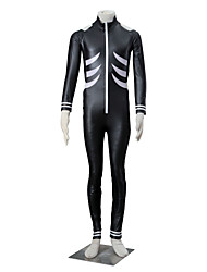 cheap -Inspired by Tokyo Ghoul Ken Kaneki Anime Cosplay Costumes Cosplay Suits Solid Black Long Sleeve Leotard