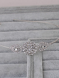 Women's Rhinestone Headpiece-Wedding Office & Career Outdoor Headbands 1 Piece