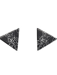 cheap -Women's Stud Earrings - Vintage, Punk, Fashion White / Black For Party / Daily / Casual