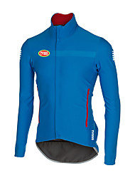 Sports Bike/Cycling Tops Men's Long Sleeve Breathable / Wearable / Ultra Light Fabric / Terylene ClassicRed