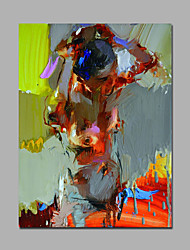 cheap -Art Figure Painting Canvas Framed Artwork Canvas Ready To Hang