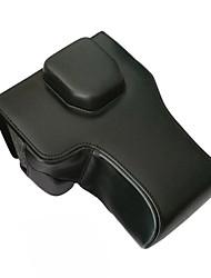 Черный-Сумки-С открытым плечом-Защита от пыли-Цифровая камера- дляSony