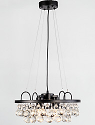 cheap -Pendant Light ,  Retro Painting Feature for Designers Metal Dining Room Study Room/Office Hallway