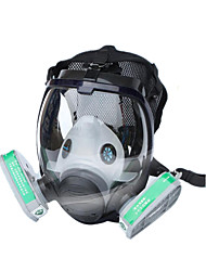 cheap -Gas Masks Chemical Spray Masks Silicone Fire Fire Formaldehyde Pesticides Ammonia