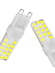 cheap -G9 LED Bi-pin Lights T 28 SMD 2835 350-450 lm Warm White Cold White Natural White 3000-6500 K Waterproof Dimmable Decorative AC 220-240