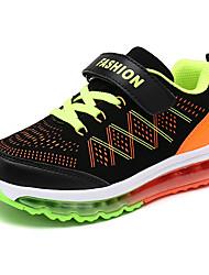 Boy's Sneakers Spring / Fall Comfort PU Casual Flat Heel Black / Royal Blue Walking