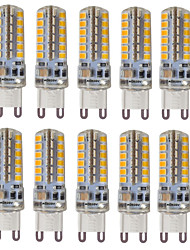 abordables -hkv® g9 3w 300-350 lm led bi-pin luces 48 smd 2835 blanco cálido blanco frío natural blanco ac 110 / 220v 10pcs