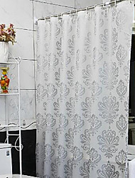 cheap -Vogue Thicken Waterproof Colorful Flower Bathroom Shower Curtain PEVA Bath