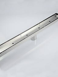 cheap -1pc High Quality Contemporary Stainless Steel Drain / Bathroom Floor Mounted