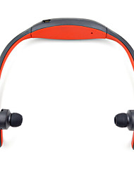 abordables -WX05 Dans l'oreille / Bande de cou Sans Fil Ecouteurs Dynamique Plastique Sport & Fitness Écouteur Avec Microphone Casque
