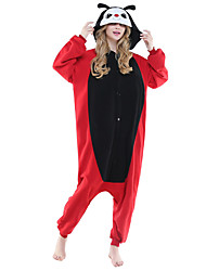 着ぐるみパジャマ テントウムシ 着ぐるみ パジャマ コスチューム フリース ブラック コスプレ ために 成人 動物パジャマ 漫画 ハロウィン イベント/ホリデー