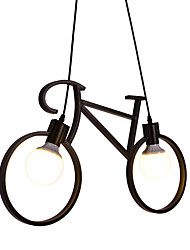 cheap -Pendant Light Ambient Light - Designers, Country Traditional / Classic Retro, 110-120V 220-240V Bulb Not Included
