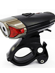 economico -Torce frontali Luci bici Luce frontale per bici - Ciclismo Impermeabile Facile da portare batterie 400 Lumens USB Batteria Ciclismo