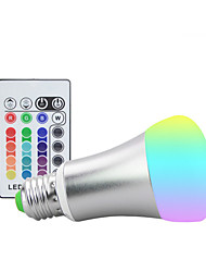 cheap -10W E27 RGB Led Lamp With Memory 16 colors Spot Led Light Bulb Dimmable Lampada (85-265V)