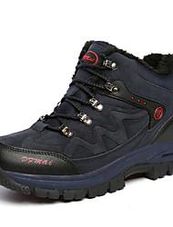 Unisex Sneakers Spring / Fall Comfort PU / Suede Casual Flat Heel Blue / Brown / Green / Gray Hiking