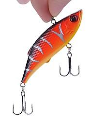 Недорогие -5 штук Рыболовная приманка Вибрация Воблер Воблер прогонистой формы Жесткая наживка Жесткие пластиковые Морское рыболовство Ловля на