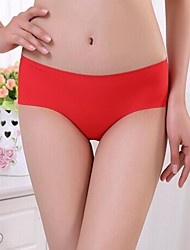 cheap -Hot Sale New Fashi Briefs Fabric Ultra-thin Comfortable Underwear Seamless Panties for Ladies Briefs Free Shipping